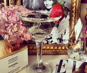 chanel, luxury, and drink image