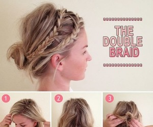 hair, styles, and tutorial image
