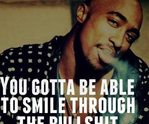 smile, tupac, and quotes image