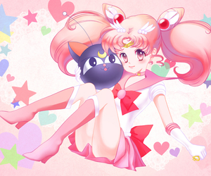 anime, senshi, and chibiusa image