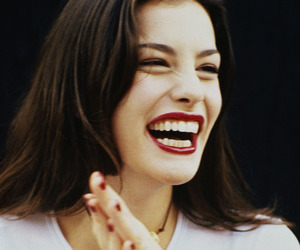 liv tyler, smile, and beauty image