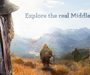 bilbo, middle earth, and new zealand image