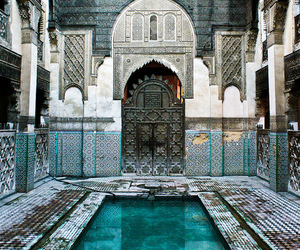 exotic, pool, and tiles image
