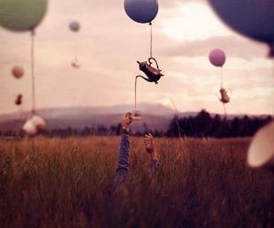 tea, balloons, and photography image