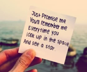 stars, quote, and promise image