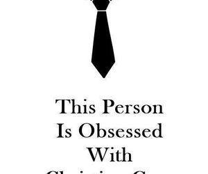 christian grey, obsessed, and fifty shades of grey image