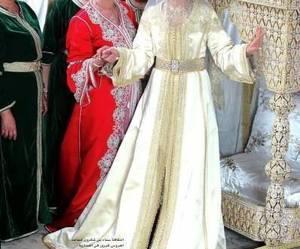 caftan, morocco, and wedding image