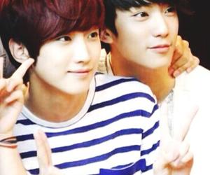 b1a4, gongchan, and jinyoung image