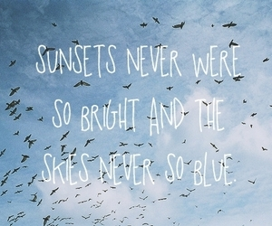 sky, quote, and text image