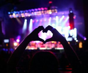concert and heart image