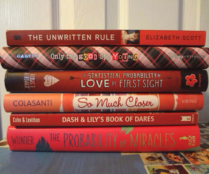 book, books, and love at first sight image