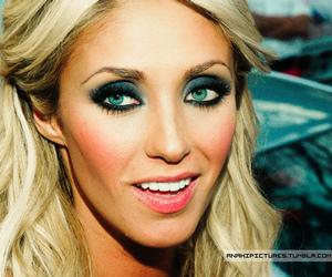 Anahi, blonde, and eyes image
