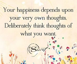 happiness and thoughts image