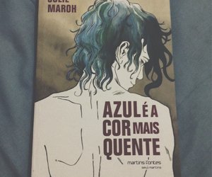 book, livro, and blue is the warmest color image