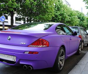 bmw, purple, and car image