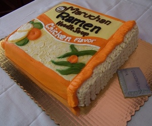 ramen, cake, and food image