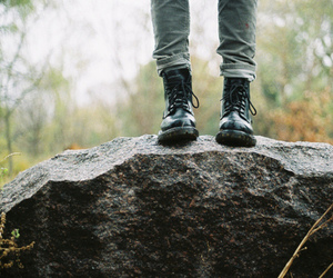 boots, photography, and hipster image