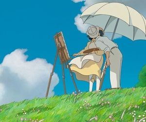 kiss, movie, and wind rises image