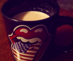 mug, rock n roll, and the rolling stones image