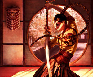awesome and samurai girl image
