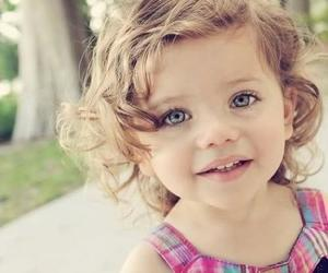 cute, girl, and baby image