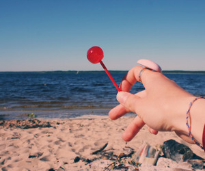 arm, summer, and candy image