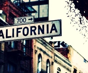 california, city, and street image