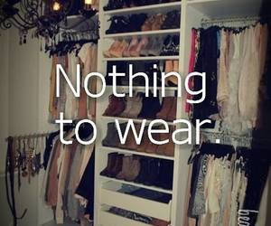 clothes, fashion, and nothing image
