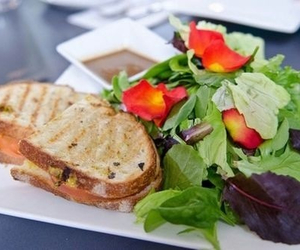 food, salad, and delicious image