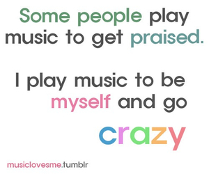 crazy, i love music, and flute image