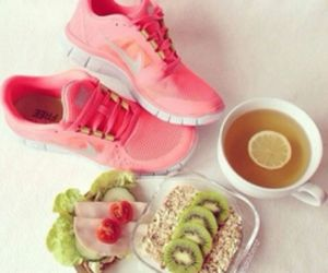 food, healthy, and nike image