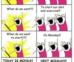 diet, Sunday, and funny image