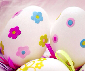 eggs, floral, and pretty image