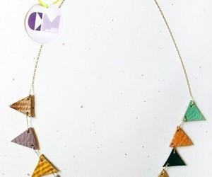 bunting and necklace image