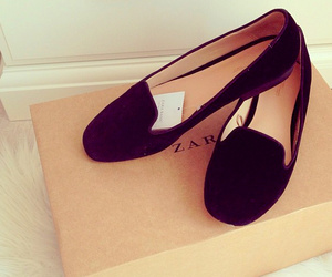 shoes, Zara, and black image