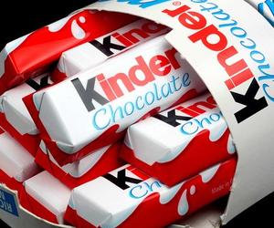 chocolate, kinder, and food image