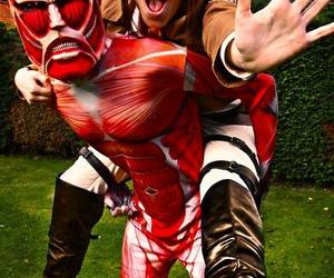 cosplay, shingeki no kyojin, and attack on titan image
