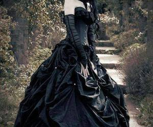 goth, gothic, and black image