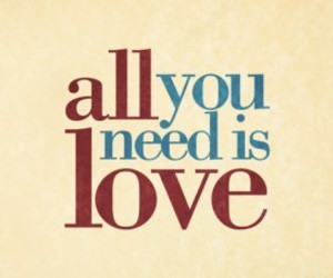 love, need, and text image