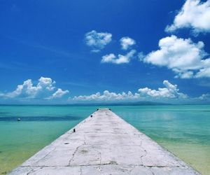 clouds, fresh, and pier image