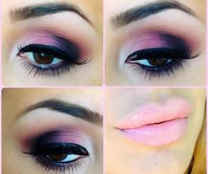makeup, pink, and make up image