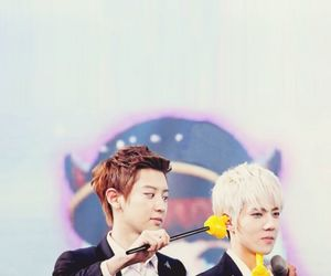 sehun, chanyeol, and exo image