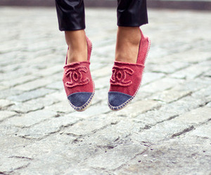 chanel, shoes, and espadrilles image