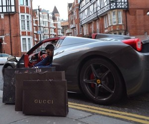 luxury, car, and gucci image