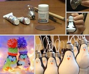 diy, penguin, and christmas image