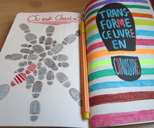 wreck this journal and sacage ce carnet image