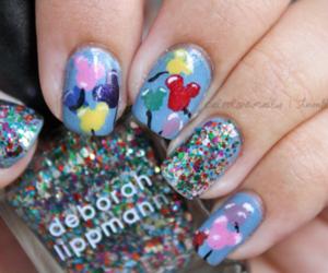 baloons, rreeaa, and nails image