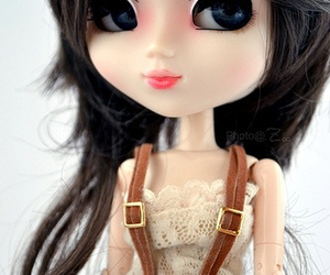 doll, hairstyle, and dress image