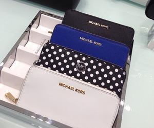 Michael Kors and wallet image