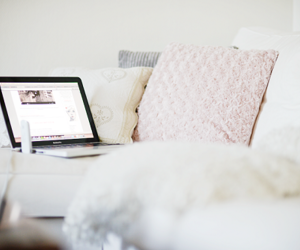 pillow, white, and room image